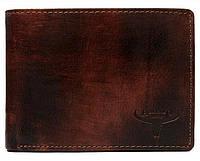 Мужское кожаное портмоне ALWAYS WILD SN992CHHP коричневое, фото 1
