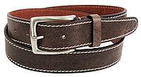 Женский кожаный ремень, пояс Farnese, Италия, SFAE005 коричневый, фото 1