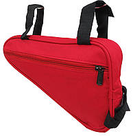 Велосипедная сумка 2L Loren ARS103 red, красная, фото 1