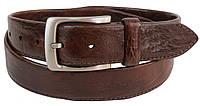 Женский кожаный ремень, пояс Farnese, Италия, SFA155 коричневый, фото 1