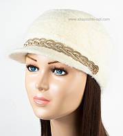 Оригинальная женская кепка Камри молочная