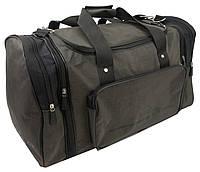Спортивная сумка с расширением 48 л Wallaby 375-4 хаки, фото 1