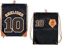 Спортивный рюкзак, котомка KNVB Gymbag Sneijder Nr 10 Black, фото 1