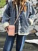 Пудровая женская сумочка на каждый день, фото 3
