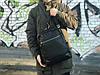 Кожаный рюкзак David Jones (натуральная кожа) черный, фото 2