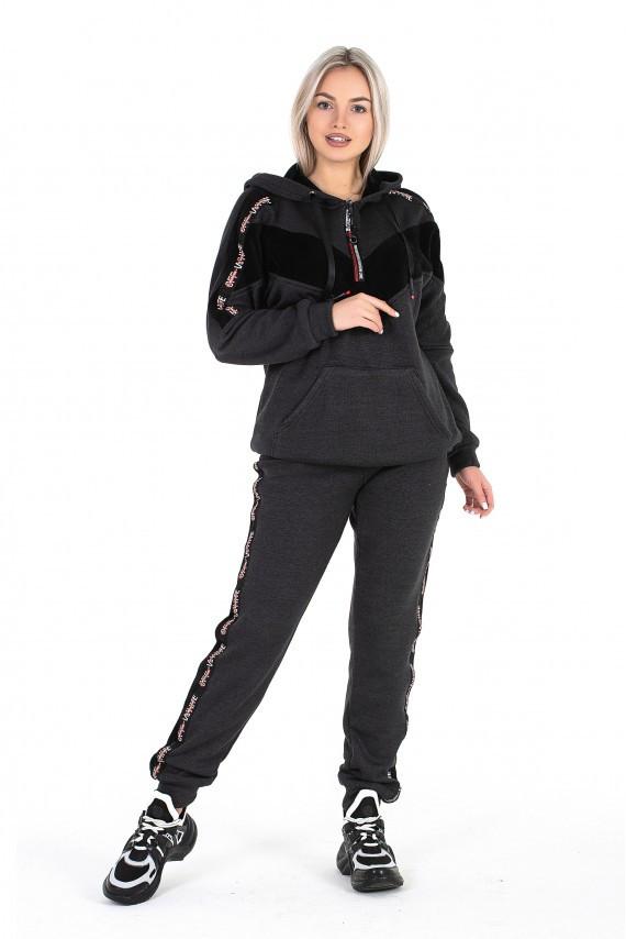 Спортивный костюм «Марта» - темно-серый