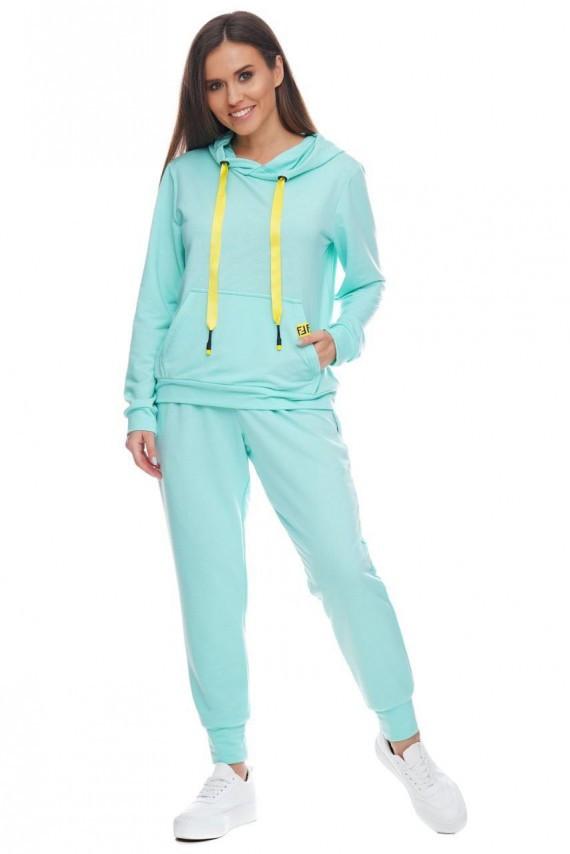 Спортивный костюм «Виола» - голубой
