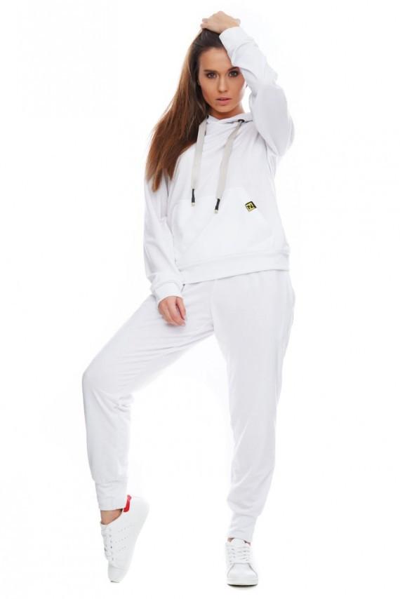 Спортивный костюм мужской «Виола» - белый