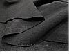 Спортивные брючки с контрастным лампасом трехнитка на флисе серого цвета, фото 4