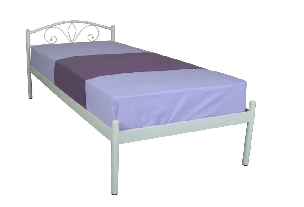 Металлическая кровать 90х200 NERO beige ТМ EAGLE