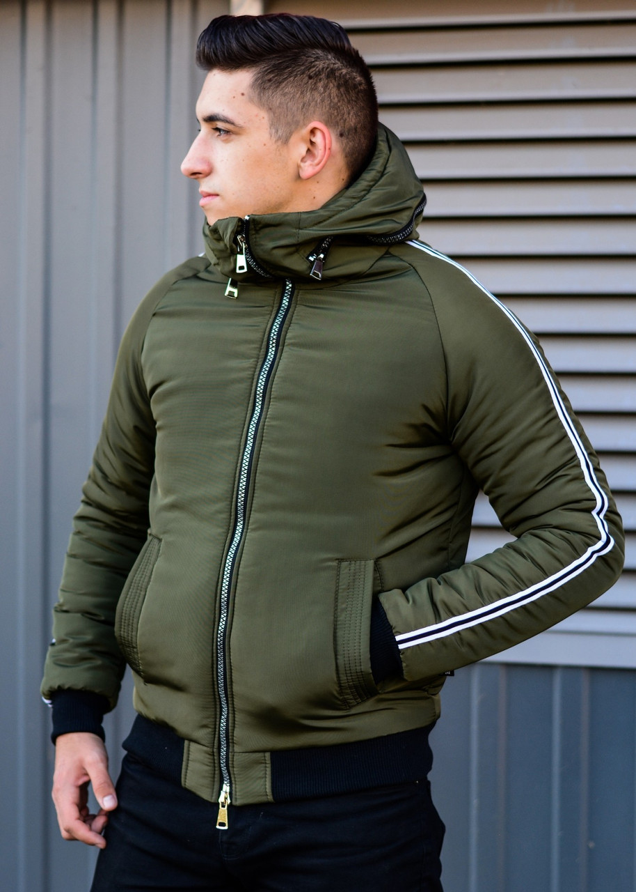 Куртка мужская зимняя теплая AKK
