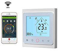 Терморегулятор Heat Plus BHT 002 GCLW white (белый), Wi-Fi для газового котла