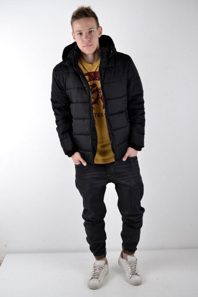 Куртка пуховик мужской Brew Зимняя