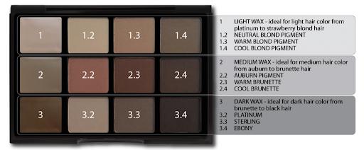 Viseart Eyeshadow & Brow Palette 00 Structure