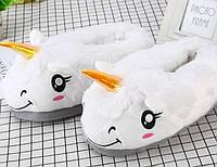 Детские тапочки для кигуруми Единороги размер 36-42 (GS1206)
