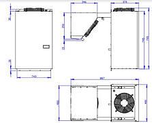 Холодильный агрегат для камер MGM 107 S (-5...+10С) (12 м3), фото 3
