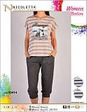 Піжама з капрями молодіжна,PINK, фото 4