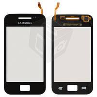 Touchscreen (сенсорный экран) для Samsung Galaxy Ace S5830i, черный, оригинал