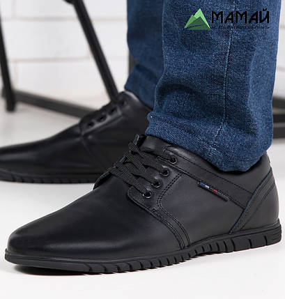Туфли мужские из натуральной кожи, фото 2