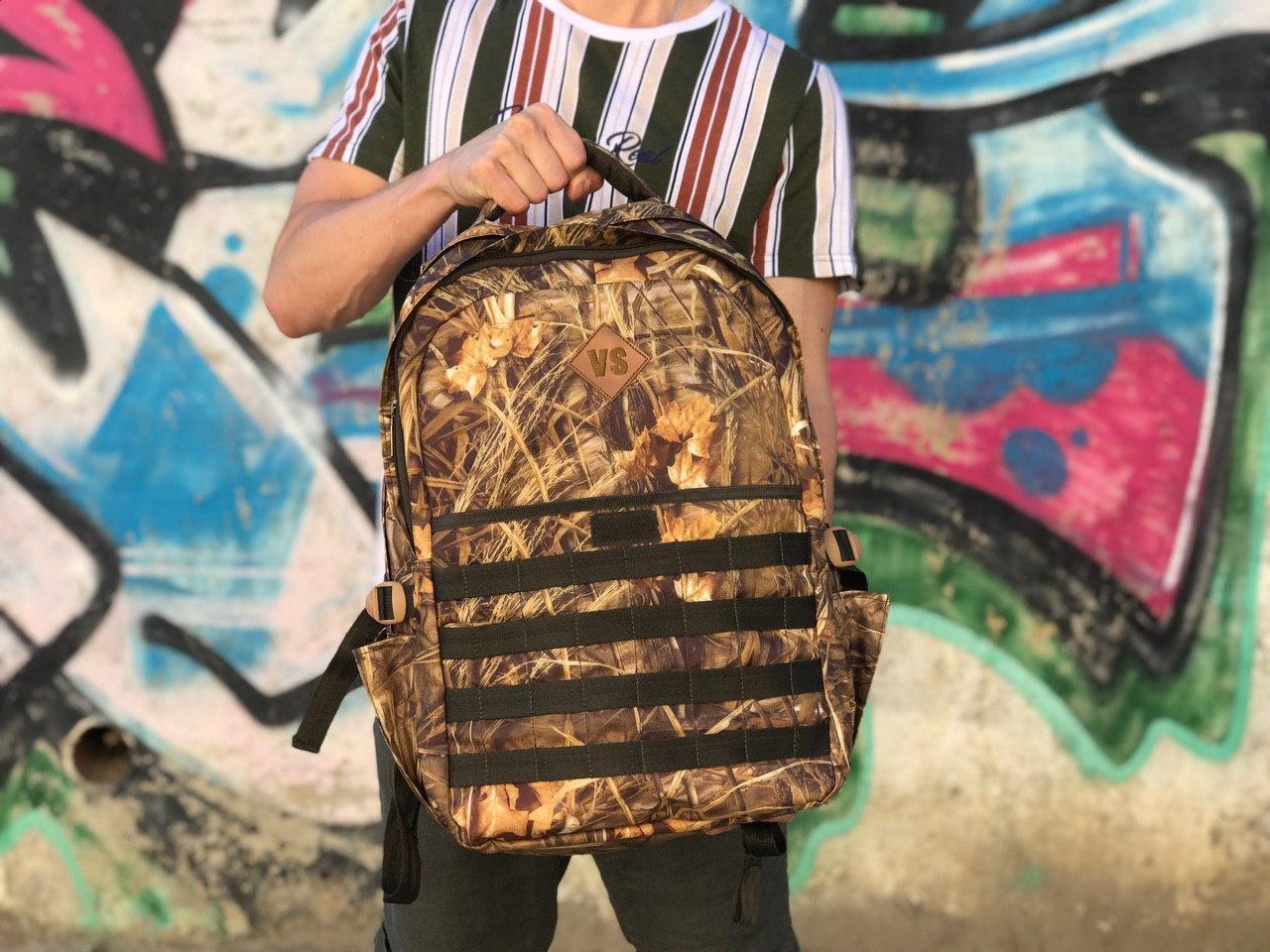 Мужской практичный военный рюкзак