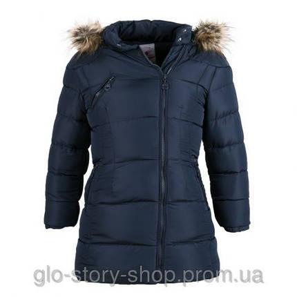 Куртка зимняя для девочки GLO-Story ГОМС-9580 (92\98,116\122,128 р.), фото 2