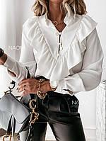 "Блуза для милих дам"" Волан"" Dress Code, фото 1"