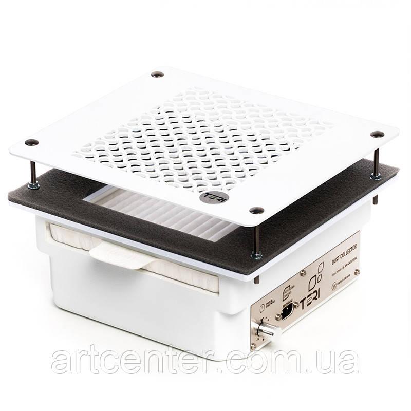 Маникюрная вытяжка встраиваемая в стол Teri 600 с HEPA фильтром (белая пластиковая сетка)