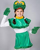 Детский красочный карнавальный  костюм для девочки Лягушка
