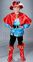 Красочный детский  новогодний костюм Кот в сапогах (В-2)