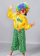 Яркий карнавальный костюм Клоун р.32-34, фото 1