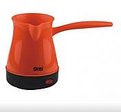 Кавоварка електрична Dsp КА-3027 New турка для приготування кави 600W 0,3 L, фото 3