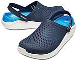 Кроксы мужские Crocs LiteRide™ Clog синие 42 р., фото 4