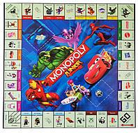 Настольная экономическая игра Монополия Junior M 3802, развивающие логические игры для всей семьи