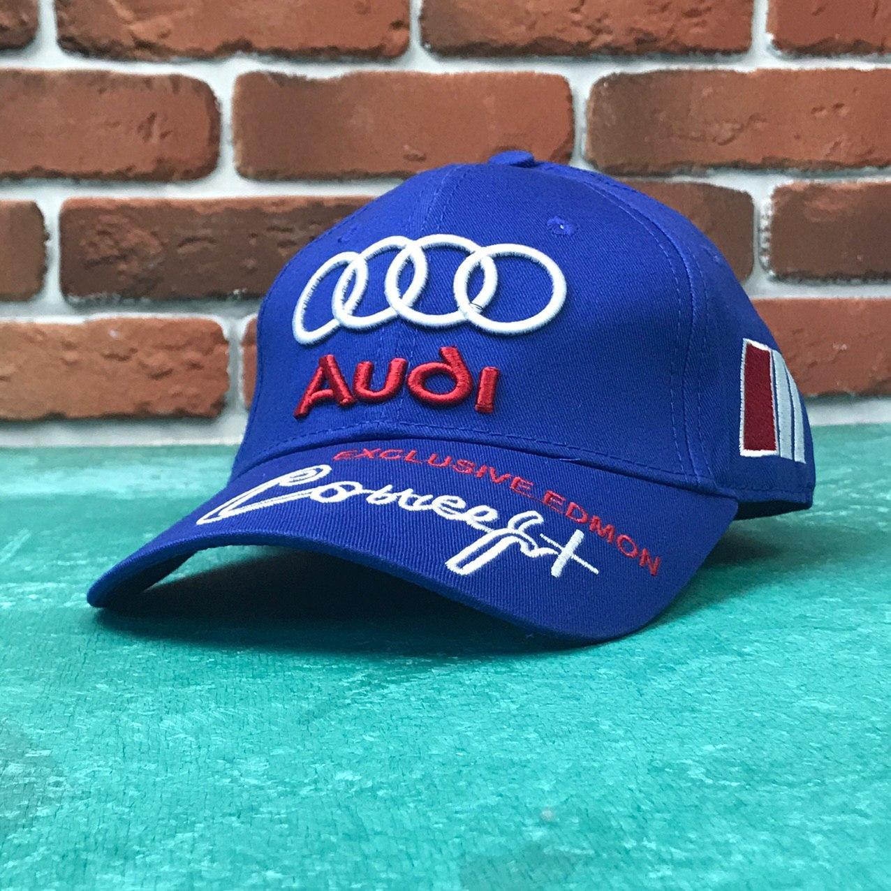 Кепка бейсболка Авто Audi синяя