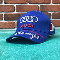 Кепка бейсболка Авто Audi синяя, фото 1