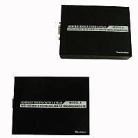 Передатчик по витой паре видеосигнал HDMI и управление USB клавиатура и мышка, RS232 и ИК управление 50м 3D