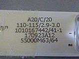 Світлодіодні LED-лінійки LED55D8(A-B)-ZC14AG-02 (матриця LSC550FN11)., фото 6