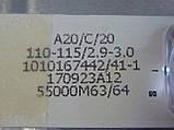 Світлодіодні LED-лінійки LED55D8(A-B)-ZC14AG-02 (матриця LSC550FN11)., фото 9