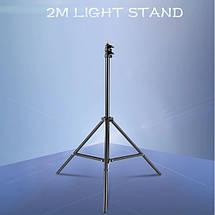 Студийная штатив-стойка 200 см + чехол, фото 3