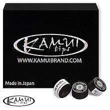 Наклейка для більярдного кия KAMUI BLACK SOFT 12,5 мм 1 шт