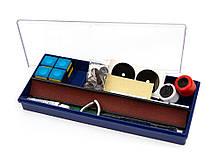 Набор для ремонта бильярдного кия Classic с наклейками и втулками различных диаметров