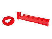 Фиксатор для наклейки бильярдного кия Cue Clamp из пластика