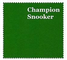 Сукно Champion Snooker зеленого цвета для бильярдного стола