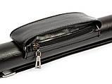Тубус для бильярдного кия с карманом и ремнем 90 см Lux Pro Black, фото 5