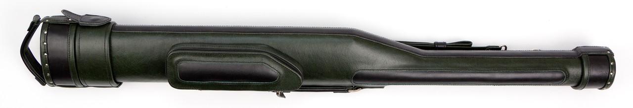 Тубус для бильярдного кия с карманом и ременем Сильвер зеленый