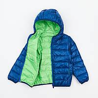 Куртка детская и подростковая на синтепоне ультрамарин на 3-15 лет
