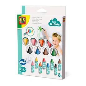 Набор для рисования серии Tiny Talents - ВОДНЫЕ ЗАБАВЫ (8 восковых карандашей для ванной). 13096S