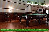 Бильярдный стол для пирамиды ПРИНЦ 12 футов Ардезия 3.6 м х 1.8 м из натурального дерева, фото 6