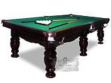 Бильярдный стол Ферзь снукер 12 футов Ардезия 3.6 м х 1.8 м из натурального дерева, фото 2