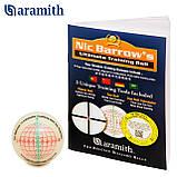 Тренировочный шар Snooker Aramith Nic Barrow`s 52,4 мм для игры в Снукер, фото 2